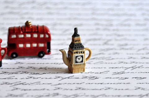 Big Ben Teapot by Elmarie Wood-Callander