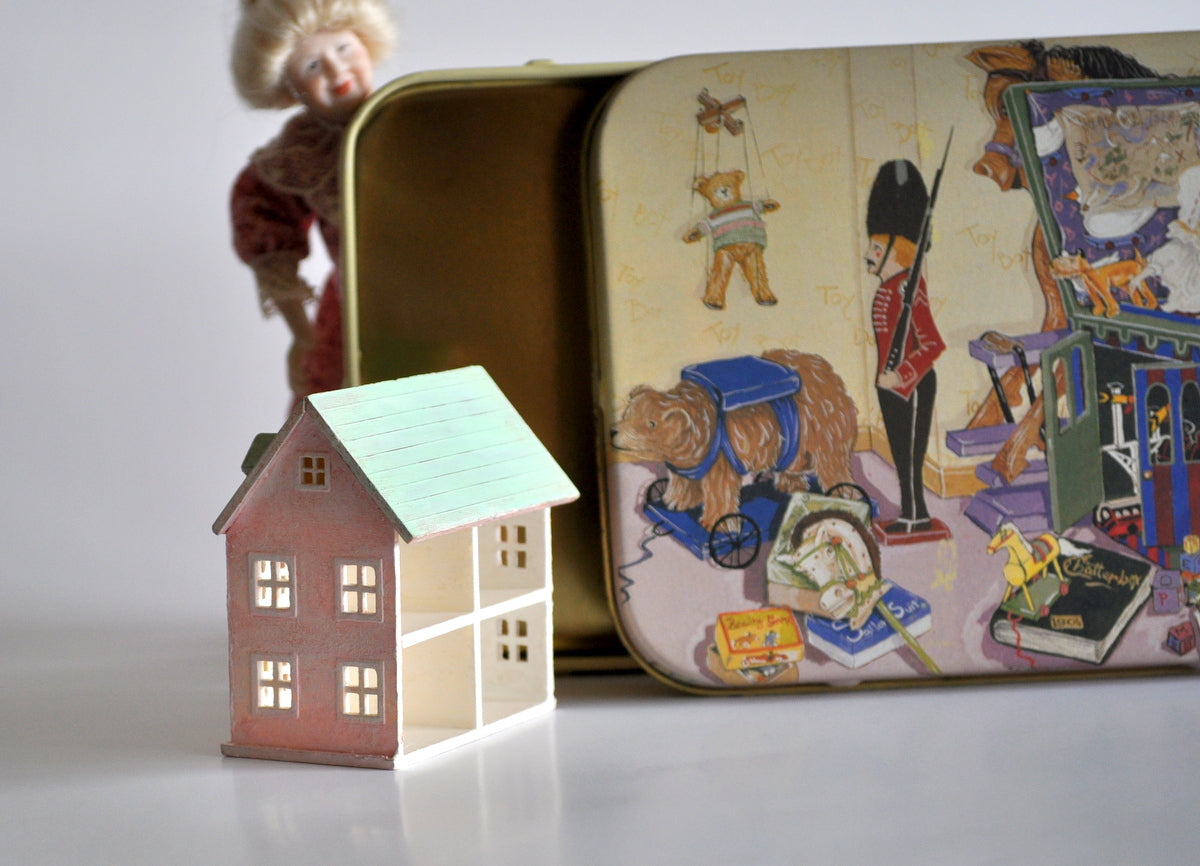 Estate Treasure: Hand Painted Toy Shop Dollhouse