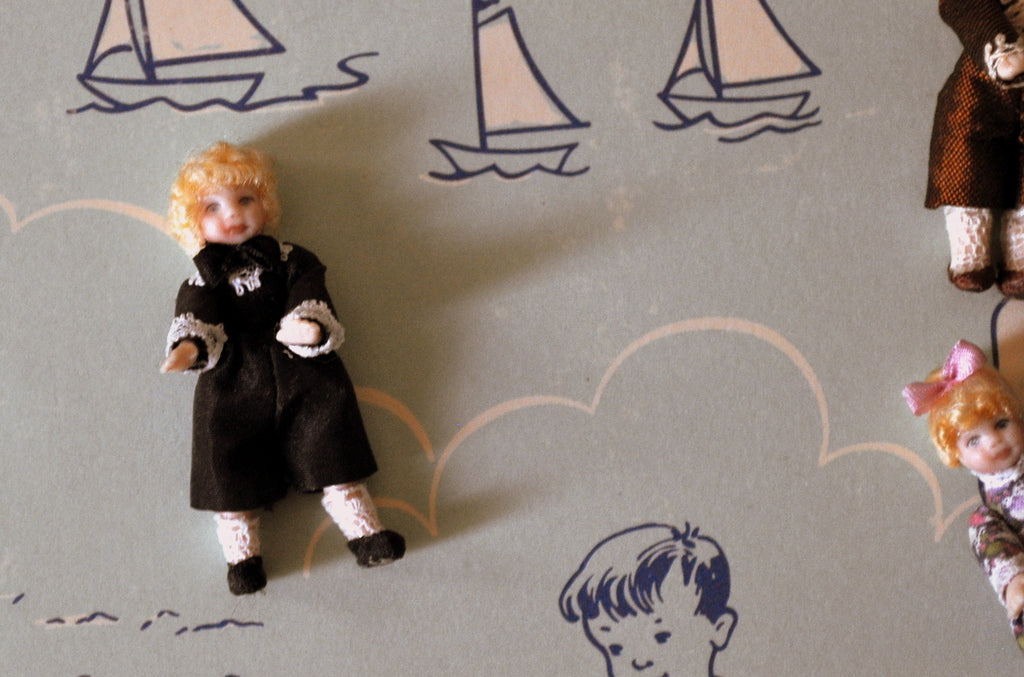 ESTATE TREASURE: Boy Doll's Doll #1 by Diane Yunnie