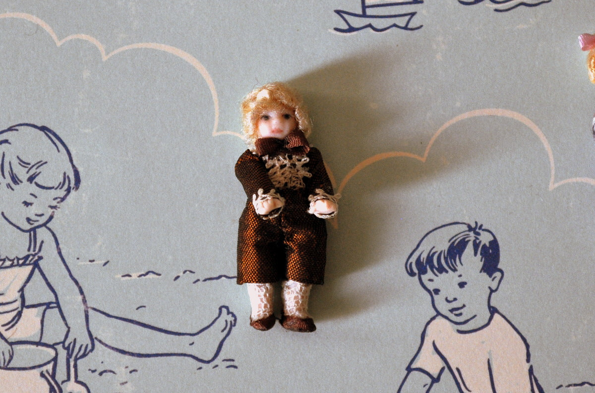 ESTATE TREASURE: Boy Doll's Doll #2 by Diane Yunnie