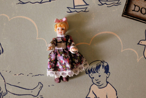 ESTATE TREASURE: Girl Doll's Doll #1 by Diane Yunnie