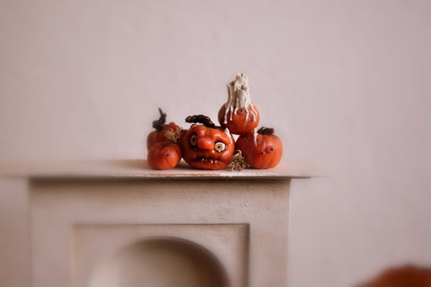 Halloween Pumpkin Set No. 1 by Rika Moon
