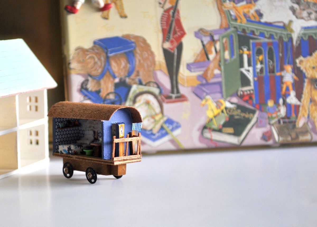 Estate Treasure: Toy Shop Gypsy Wagon