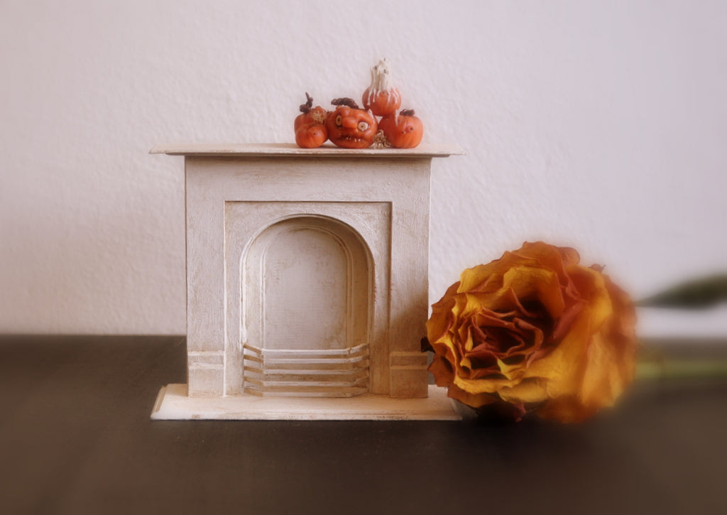 Aged Fireplace by Castle Crafts
