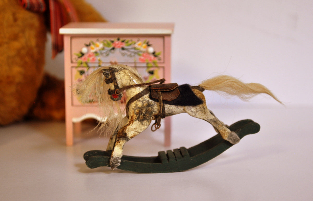 Little Rocking Horse No. II by Frieda la Grange