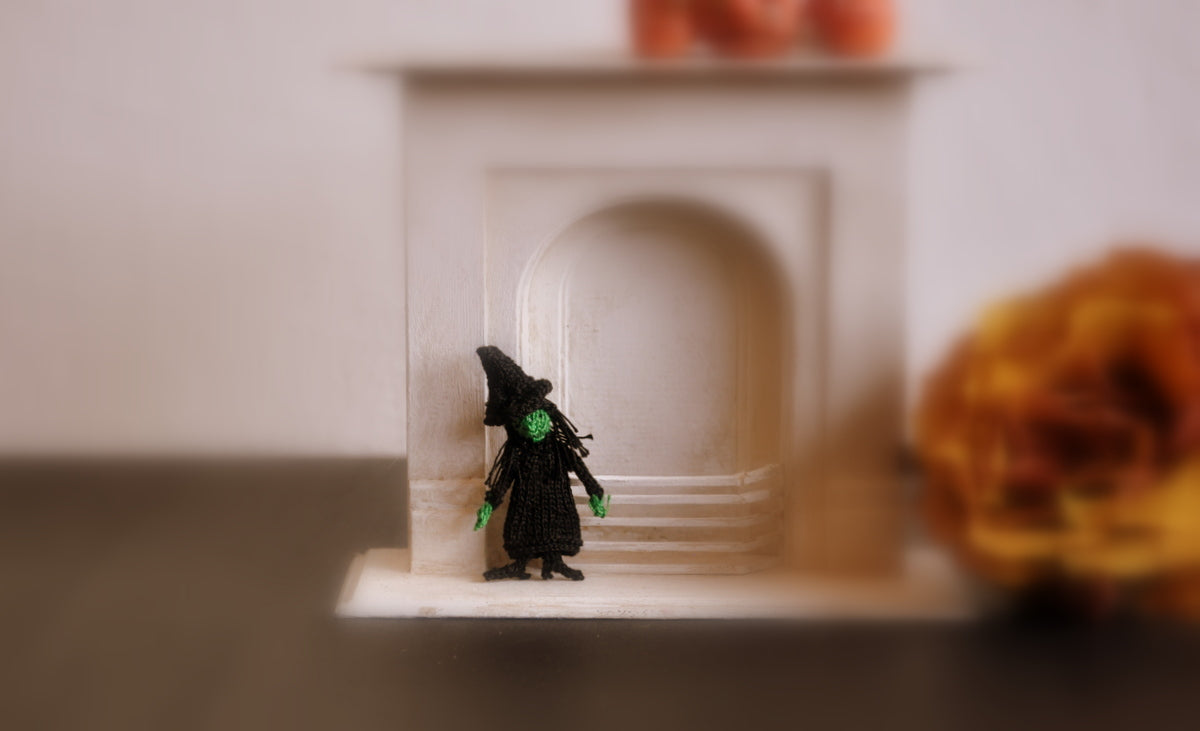 Tiny Witch Doll by Jenny Tomkins