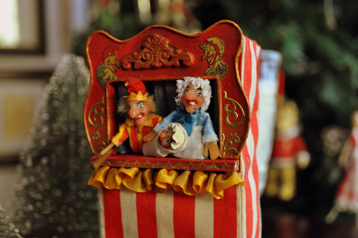 Punch & Judy Puppet Theatre by Rika Moon