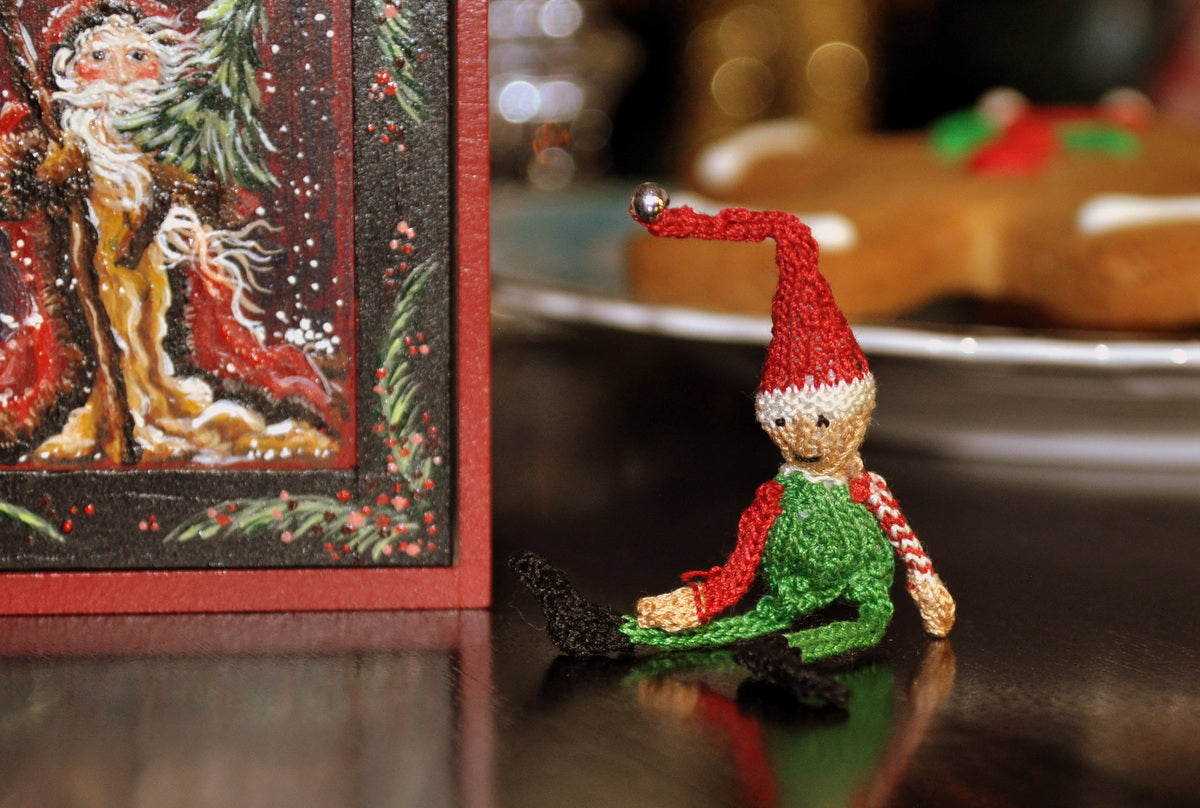 Tiny Elf Doll by Jenny Tomkins