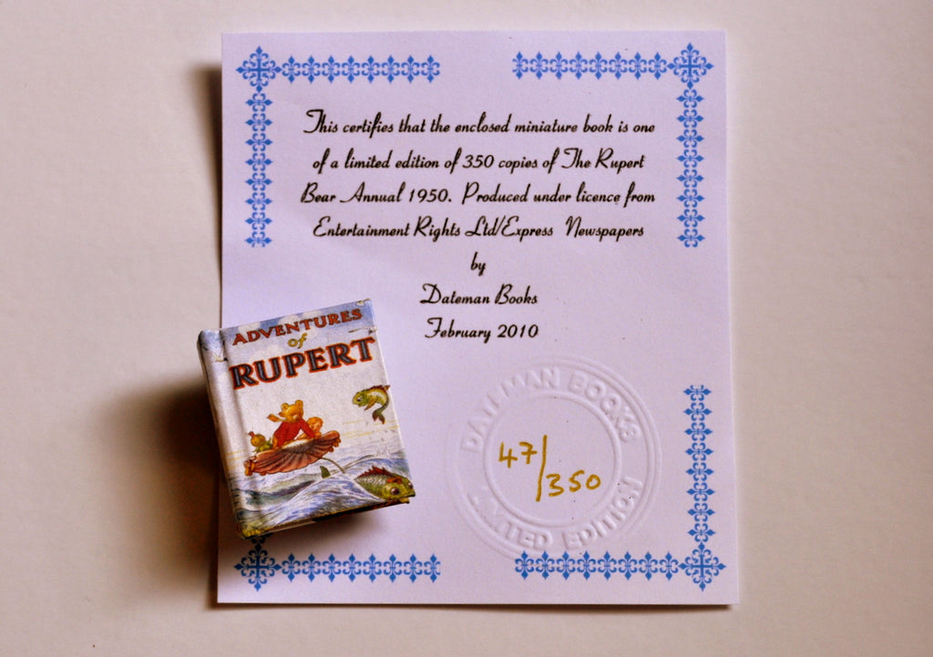 ESTATE TREASURE: Rupert Annual 1950 by Dateman Books