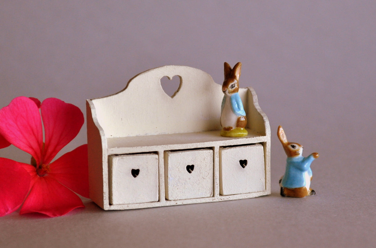 Country Style Spice Cabinet or Toy Shelf by Castle Crafts