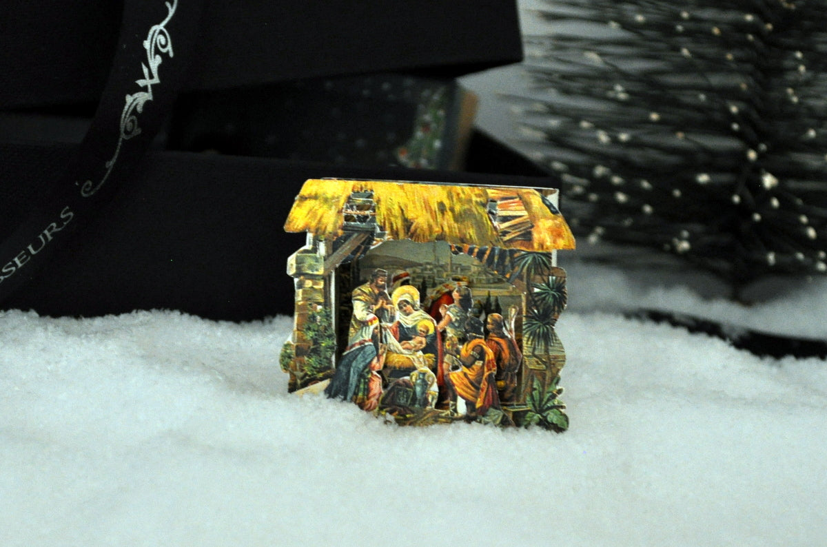 Estate Treasure: German Nativity Diorama by Sue Zwahlen