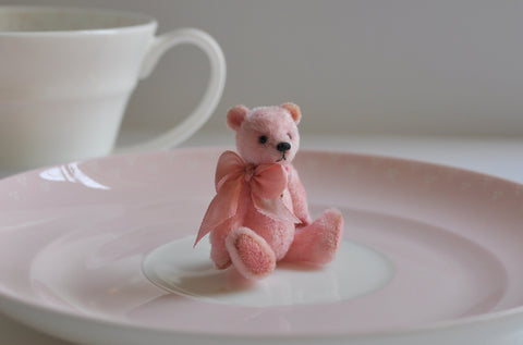 "Fully Jointed ""Pink Romance"" Teddy Anna Braun"