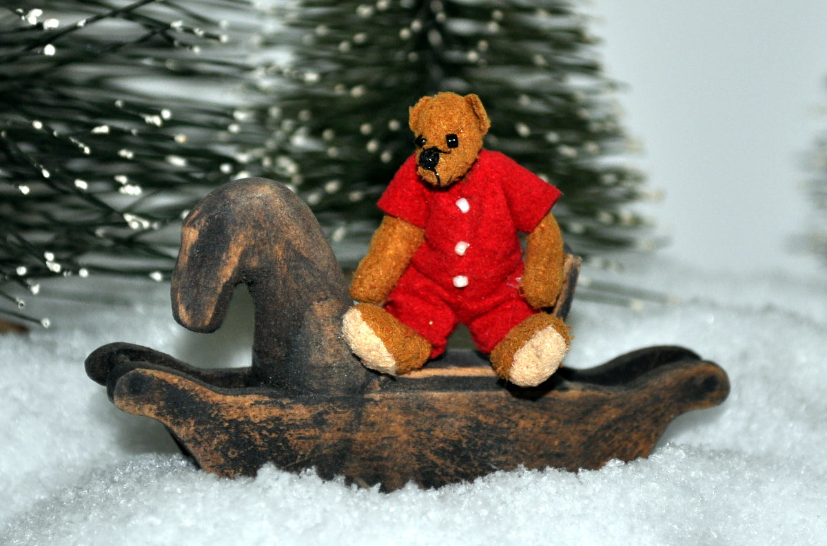 ESTATE TREASURE: Christmas Pajamas Teddy