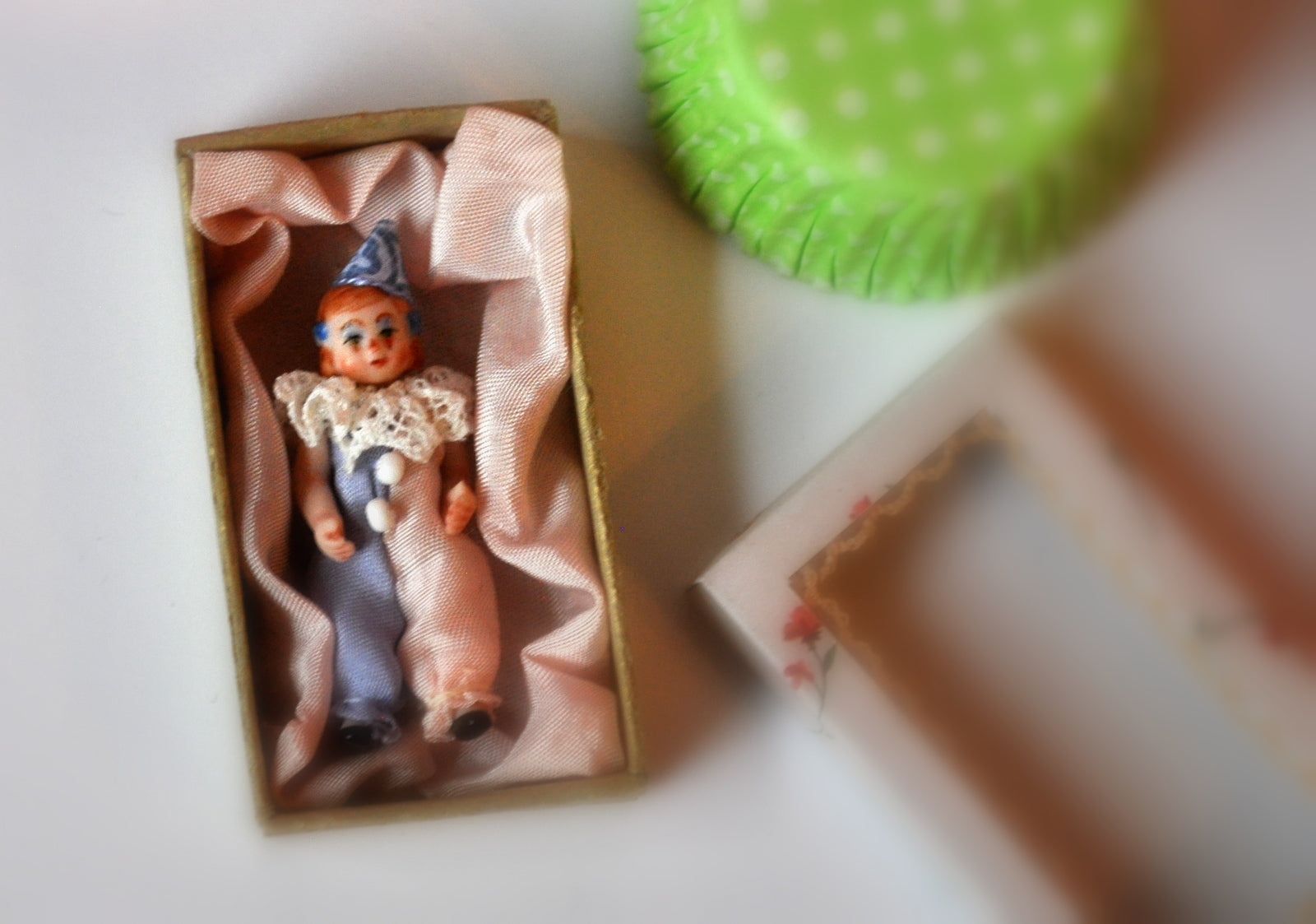 Gift Boxed Clown Dolly #1 by Elmarie Wood-Callander