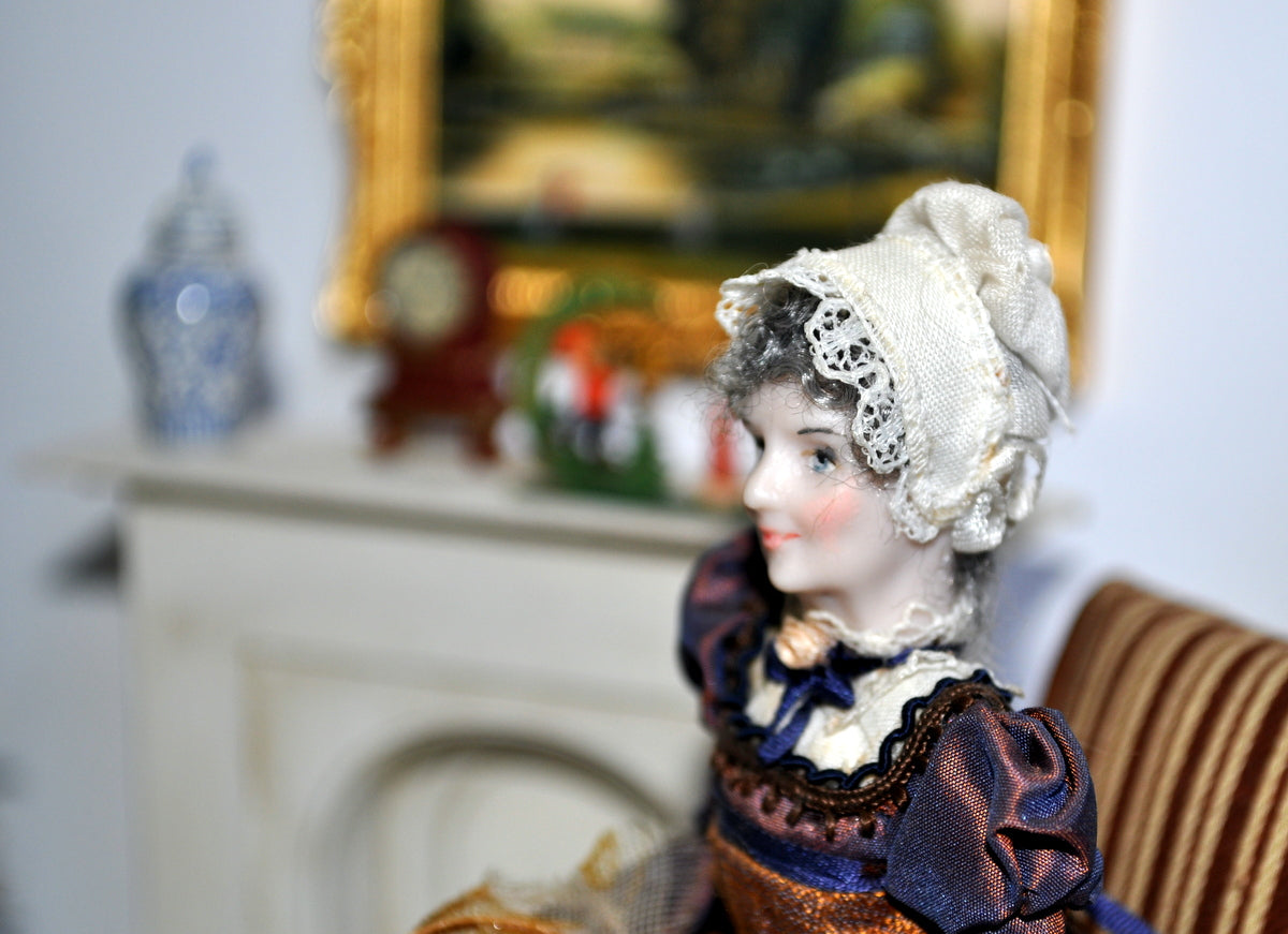 ESTATE TREASURE: Beautifully Dressed Georgian Older Lady by Jill Bennett - J Designs