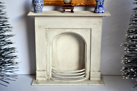 Aged Fireplace II by Castle Crafts