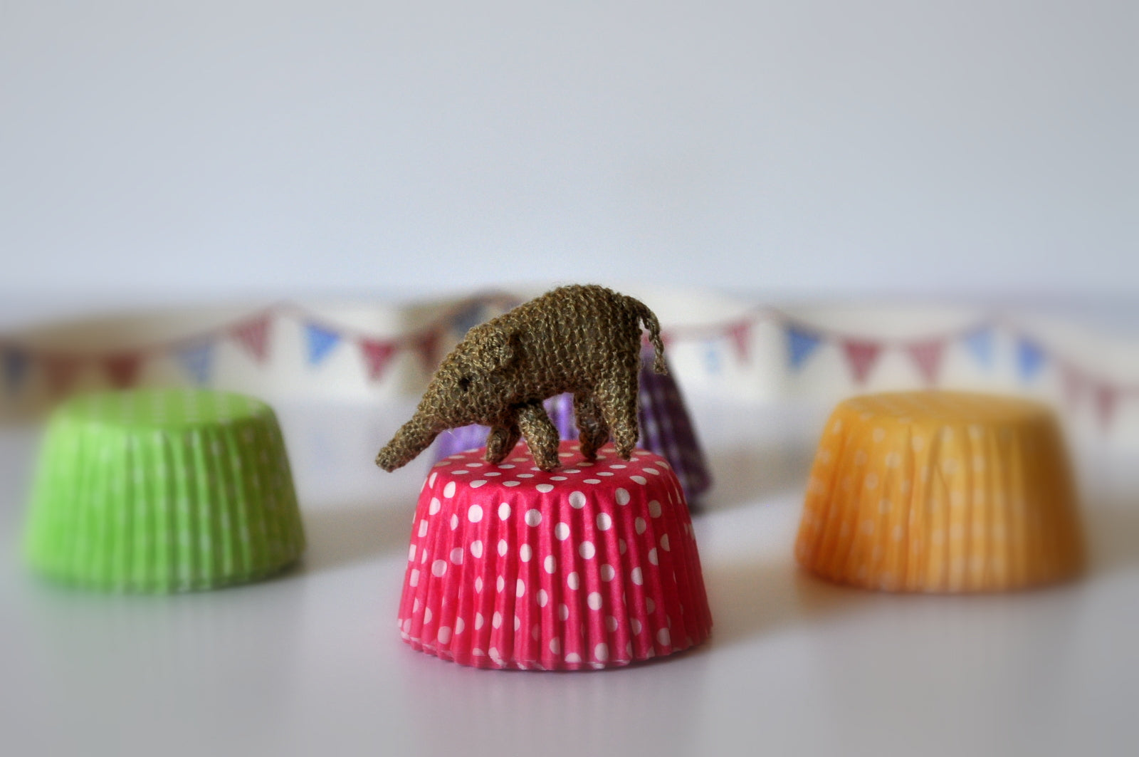 Circus Elephant Soft Toy #1 by Jenny Tomkins