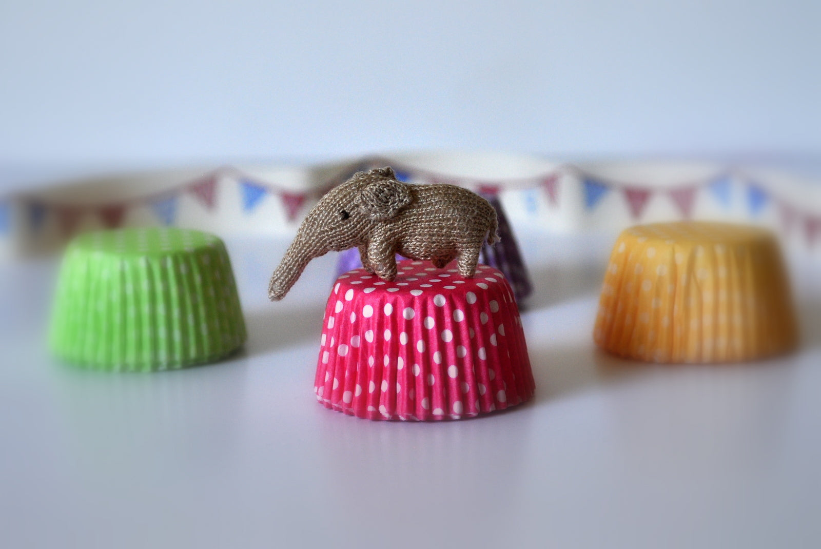 Circus Elephant Soft Toy #2 by Jenny Tomkins