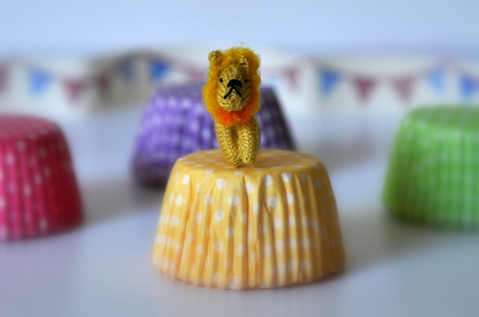 Circus Lion Soft Toy by Jenny Tomkins