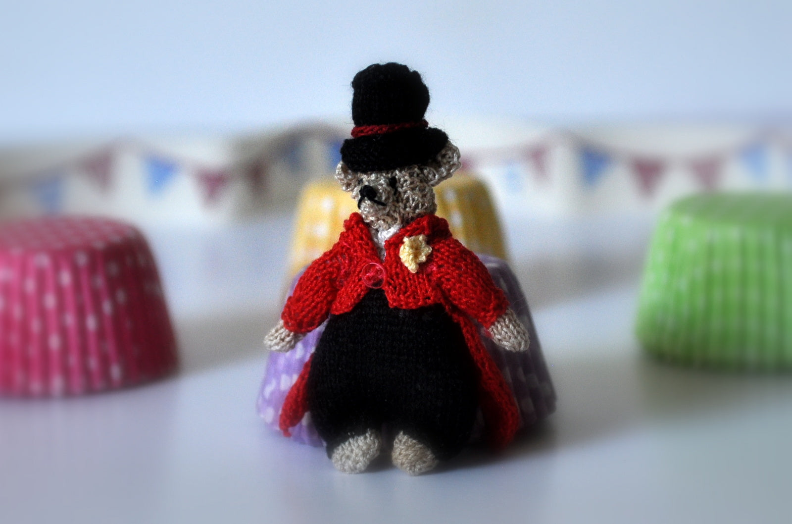 The Ringmaster Soft Toy by Jenny Tomkins