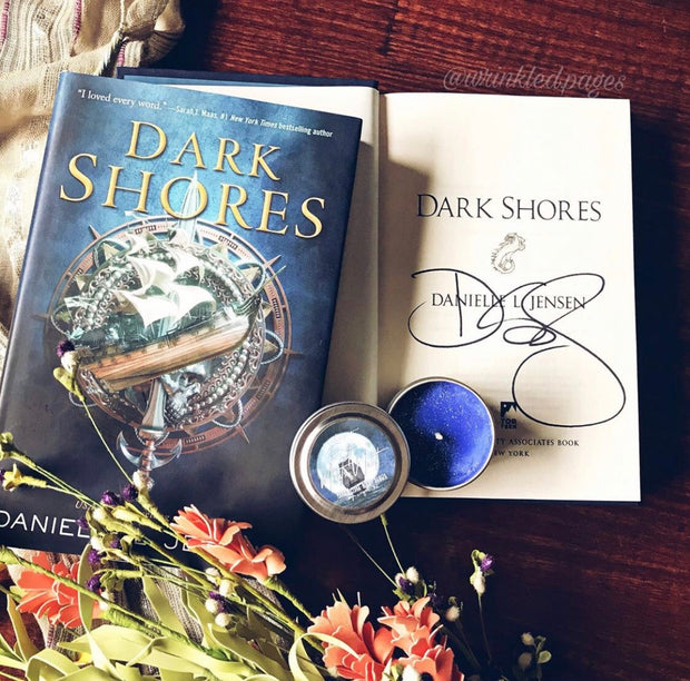 Signed Dark Shores by Danielle Jensen - Wicked Creatures Box