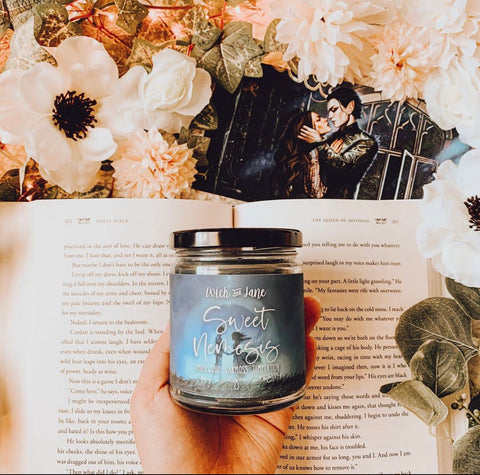 Sweet Nemesis Cruel Prince inspired candle