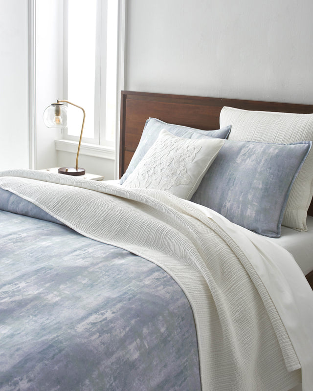 Glacier Printed Cotton Duvet
