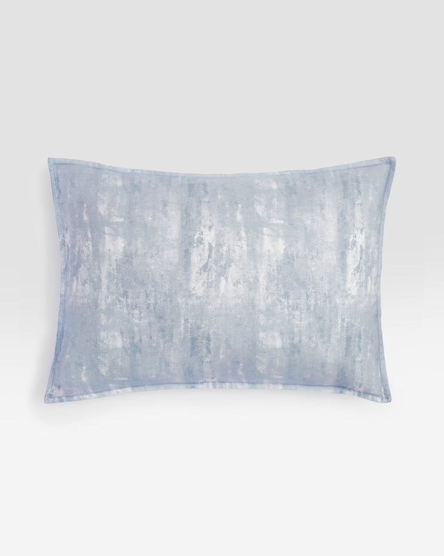Glacier Printed Cotton Sham