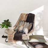 Limited Edition Handwoven Neutral Multi Throw