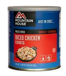 Diced Chicken #10 Can