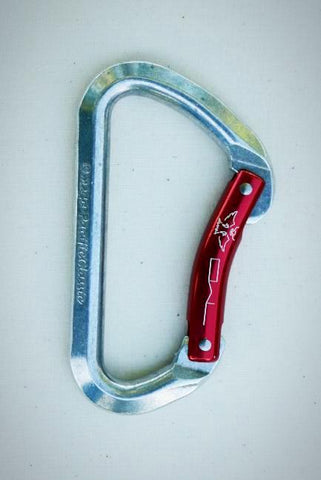OWL-Red, Bent Gate Carabiner