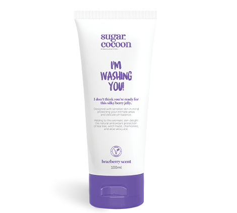 "Sugar Cocoon ""I'm washing you"" Body Wash"