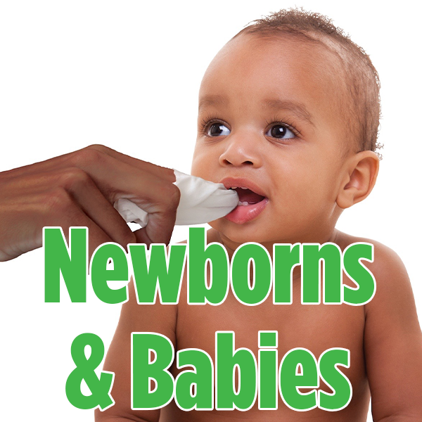 Newborns & Babies | Brilliant Oral Care
