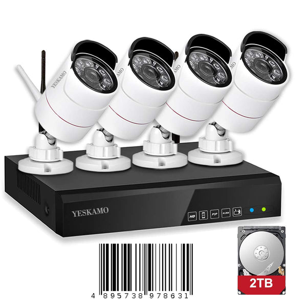 1080P Cameras with NVR(4 Cams)