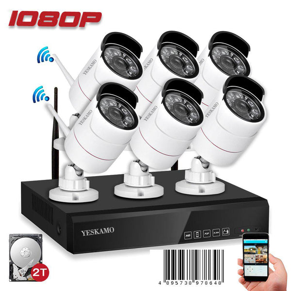 1080P Cameras with NVR(6 Cams)