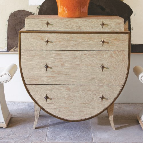 Global Views KliSmallos Chest Sandblasted Oak