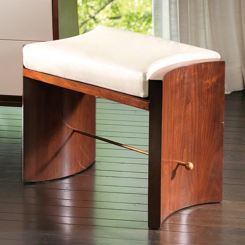 Global Views Cinch Bench, Walnut
