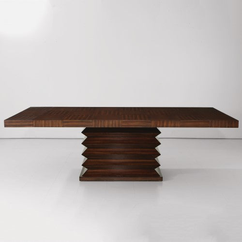 Global Views Zig Zag Dining Table