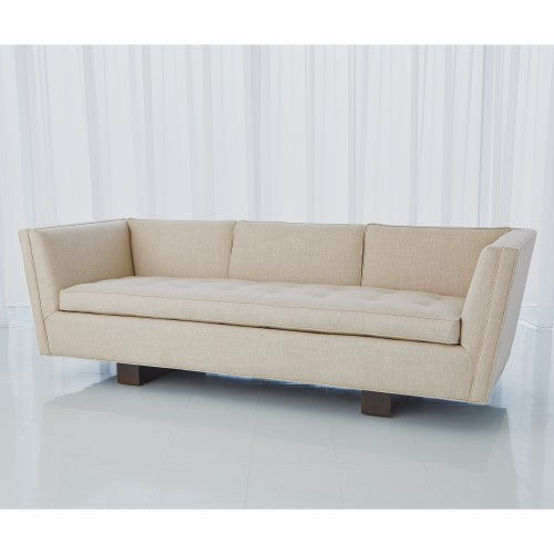 Global Views Crown King Sofa Woven Windsor