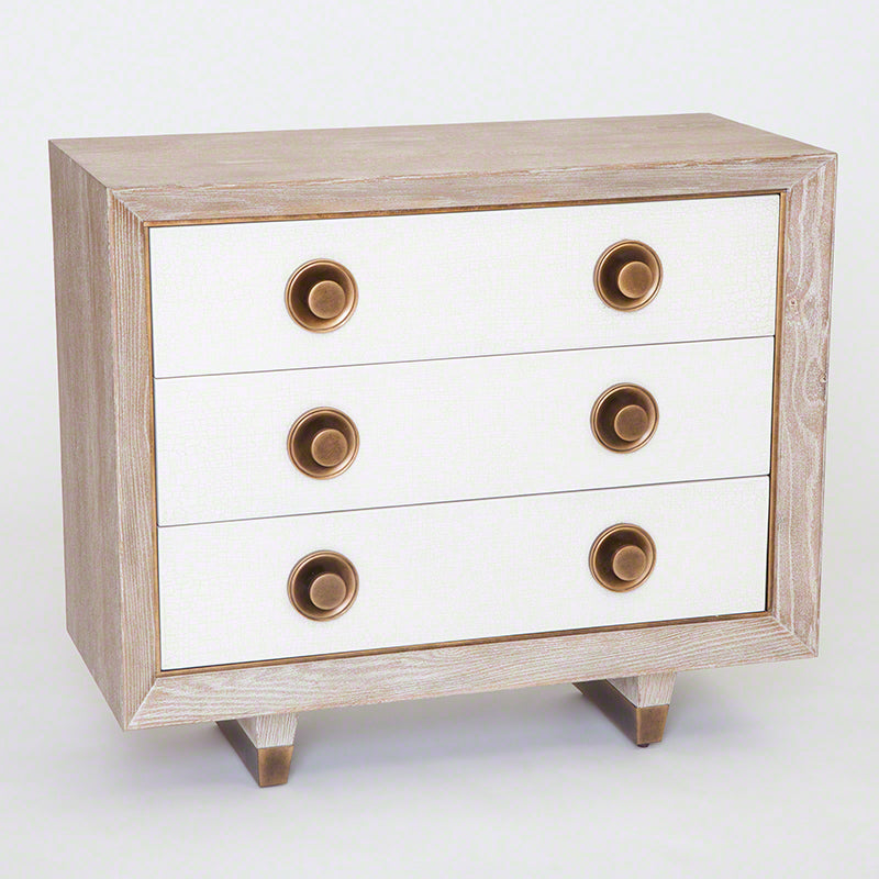 Global Views Geneva 3-Drawer Chest