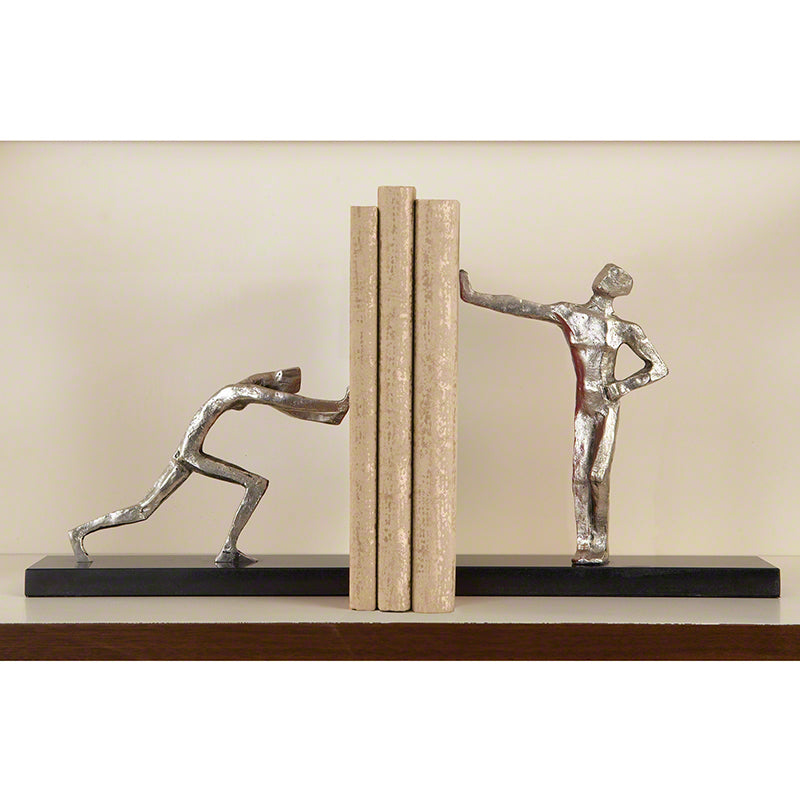Global Views Blockhead Bookends Pair