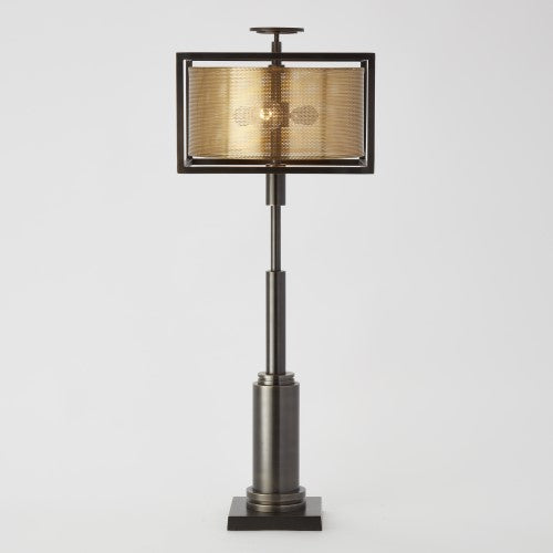 Global Views Double Shade Lamp