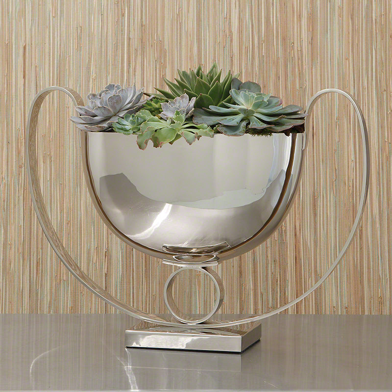 Global Views Trophy Compote Nickel