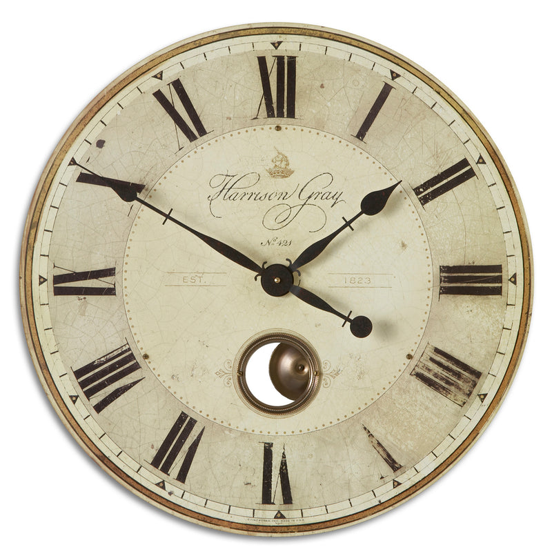 "Harrison Gray 23"" Clock"