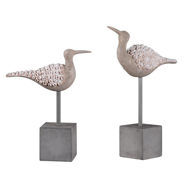 Shore Birds Sculpture S/2