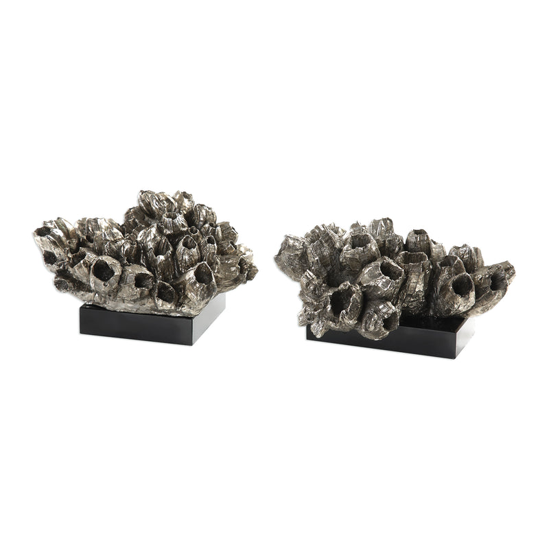 Sessile Barnacle Sculptures S/2