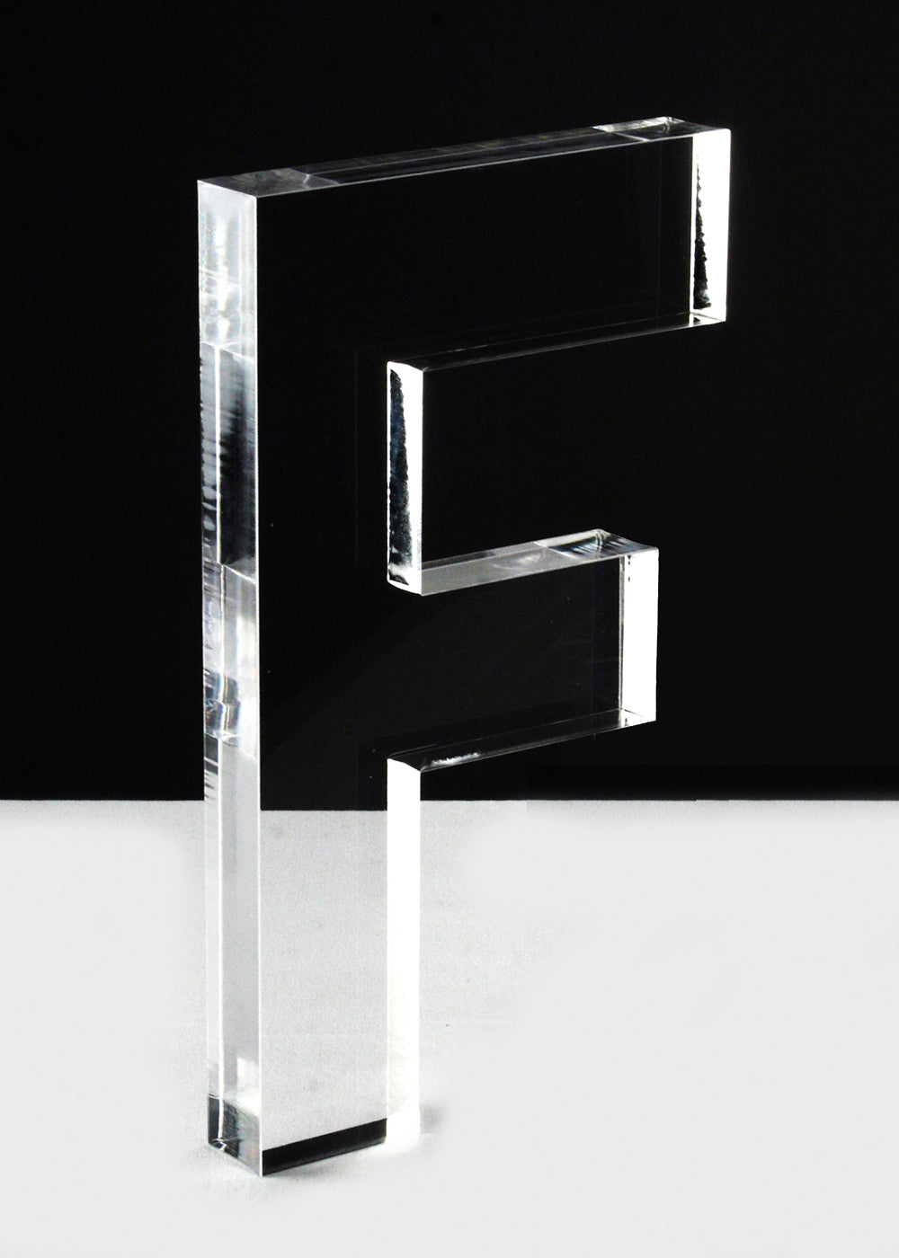 Acrylic Letter F
