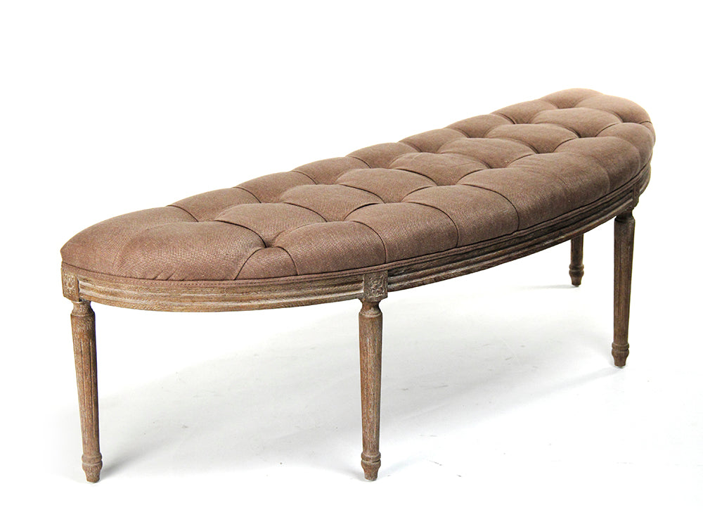 Louis Curved Bench