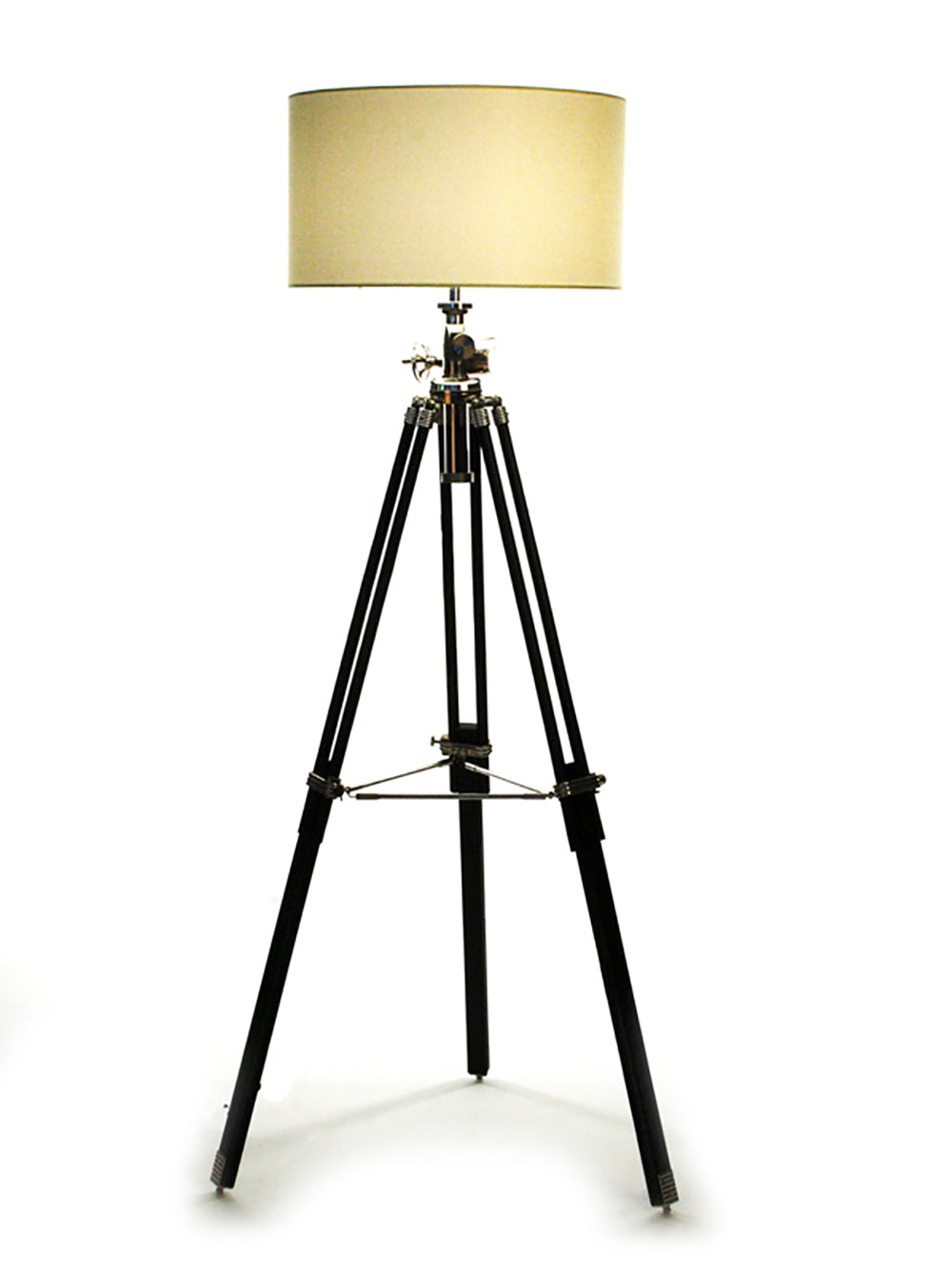 Surveyors Tripod Floor Lamp