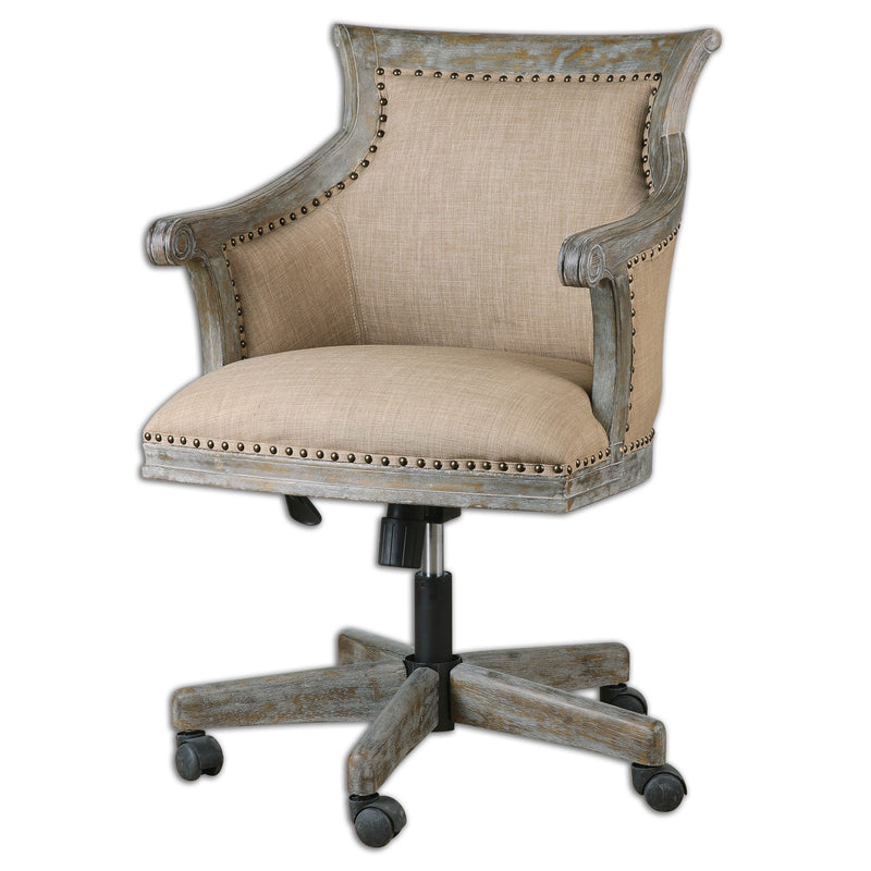 Kimalina Linen Accent Chair